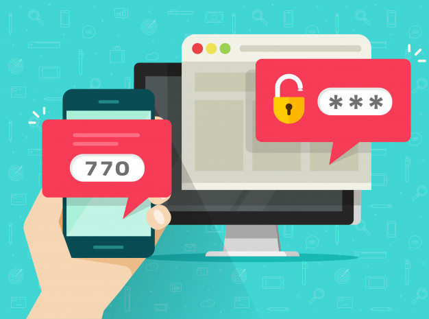 Beveiliging controle paneel met two factor authentication - 2FA